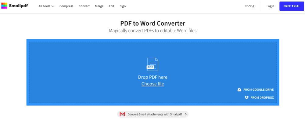 Conversor De Pdf Para Word Online