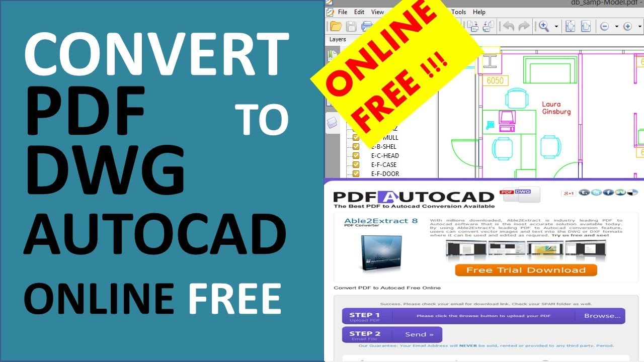 Convert Dwg To Pdf Online Free