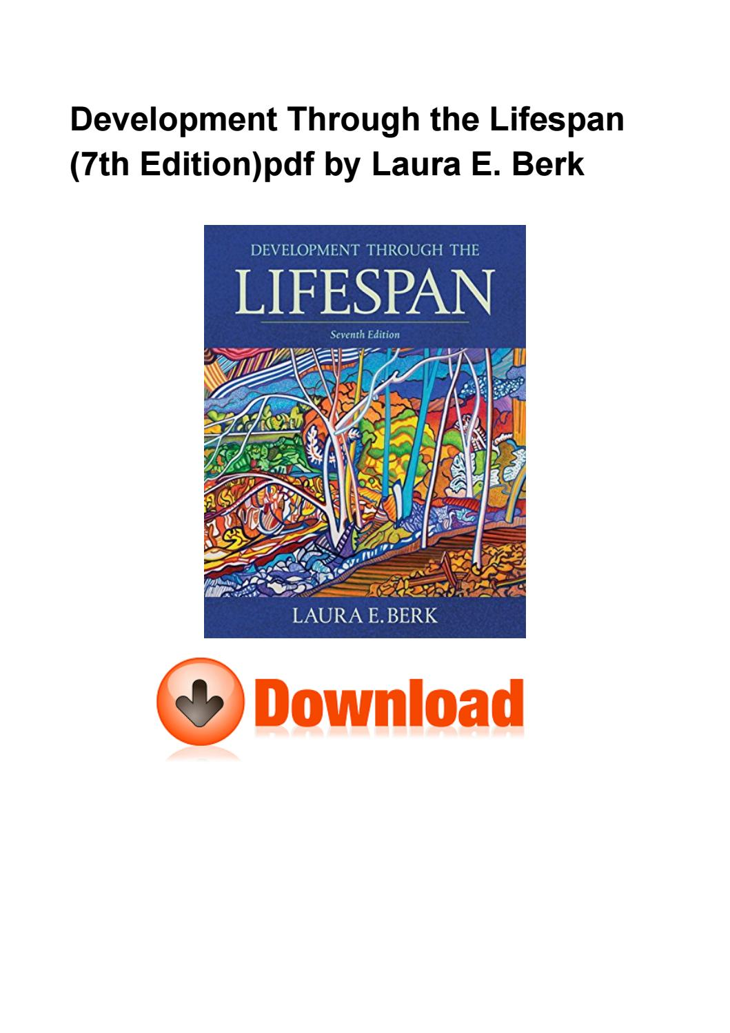 Development Through The Lifespan 7th Edition Pdf
