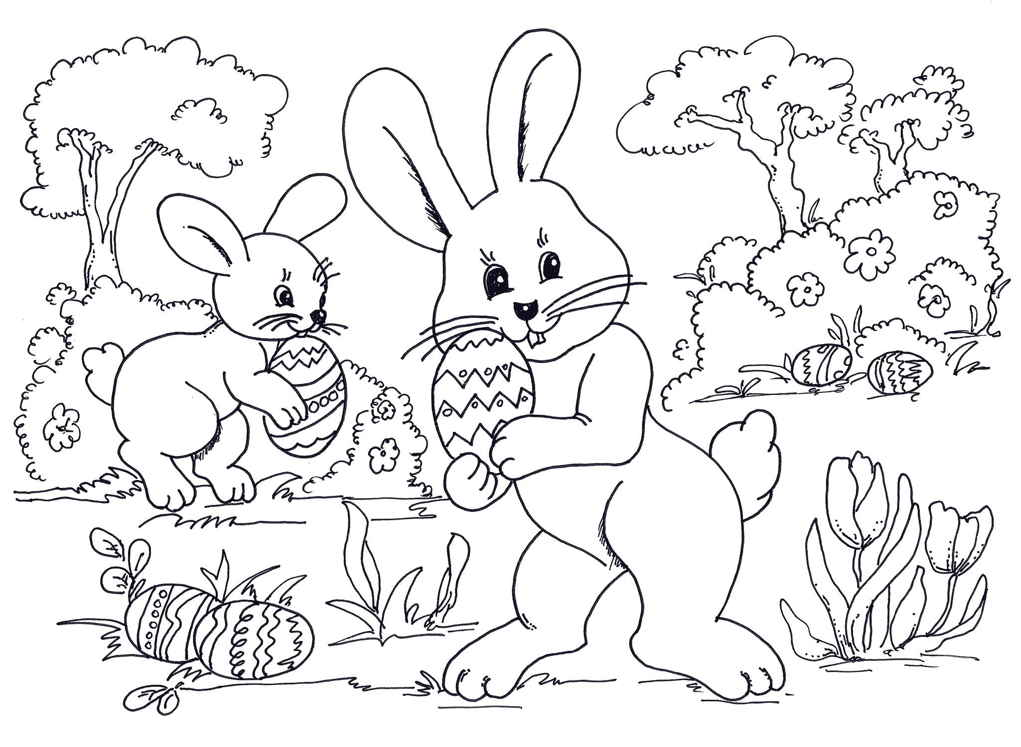 Easter Coloring Pages Pdf Free