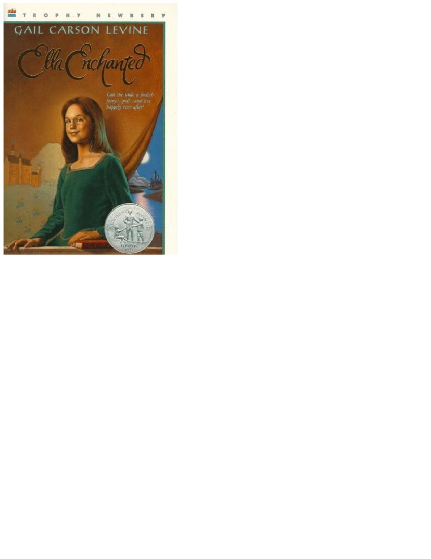 Ella Enchanted Book Pdf