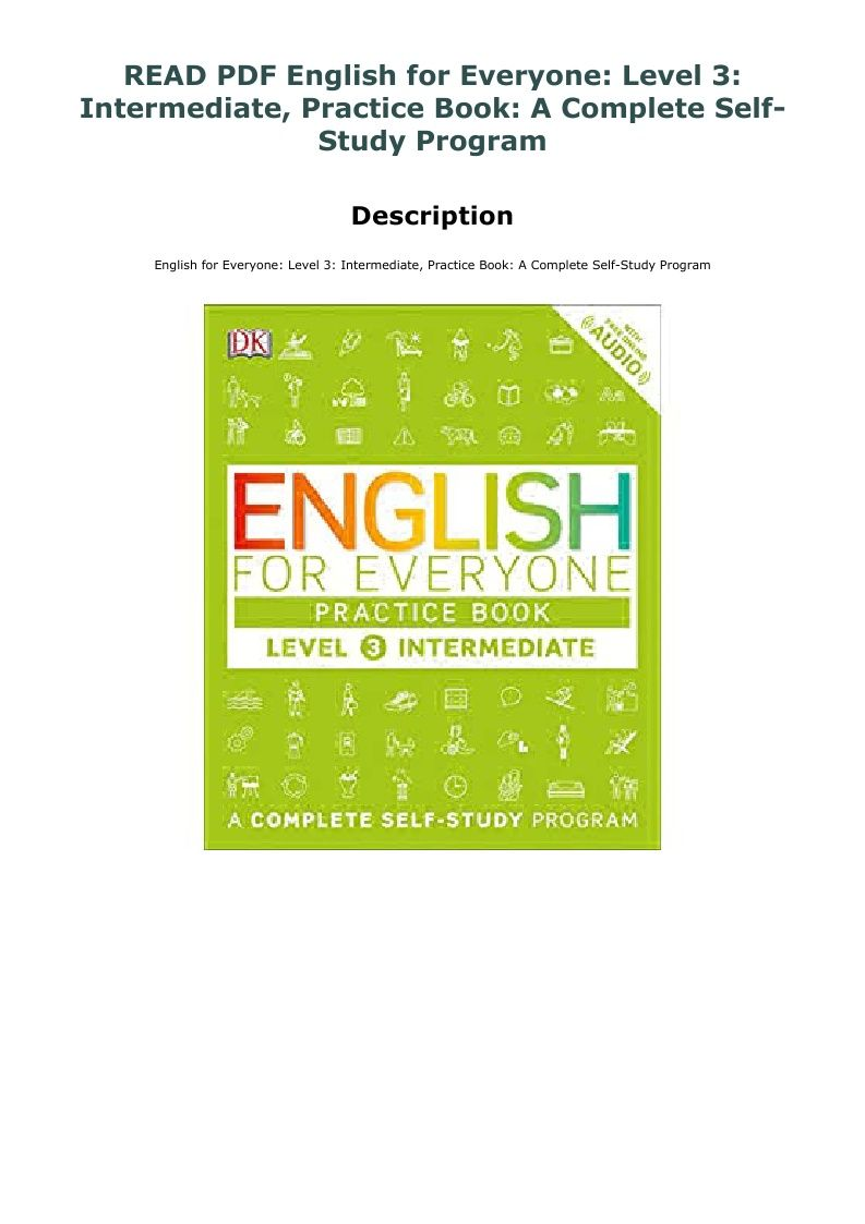 English For Everyone Level 3 Pdf