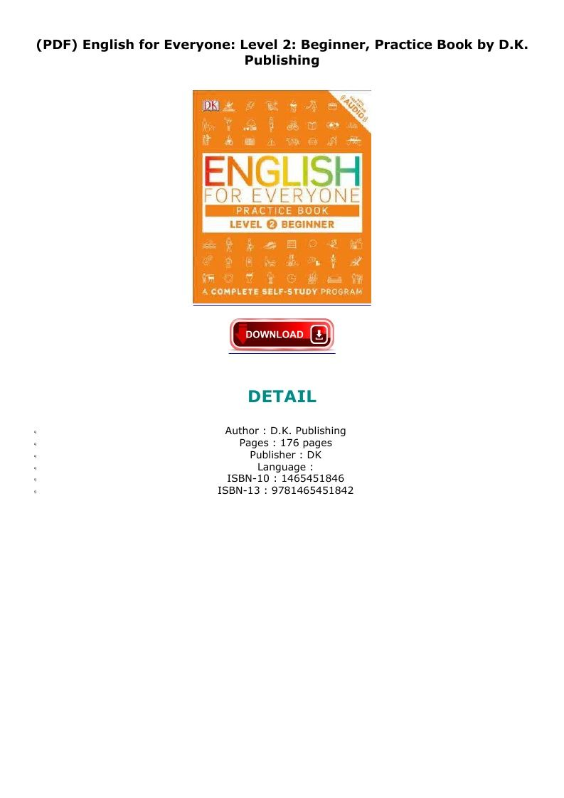English For Everyone Pdf
