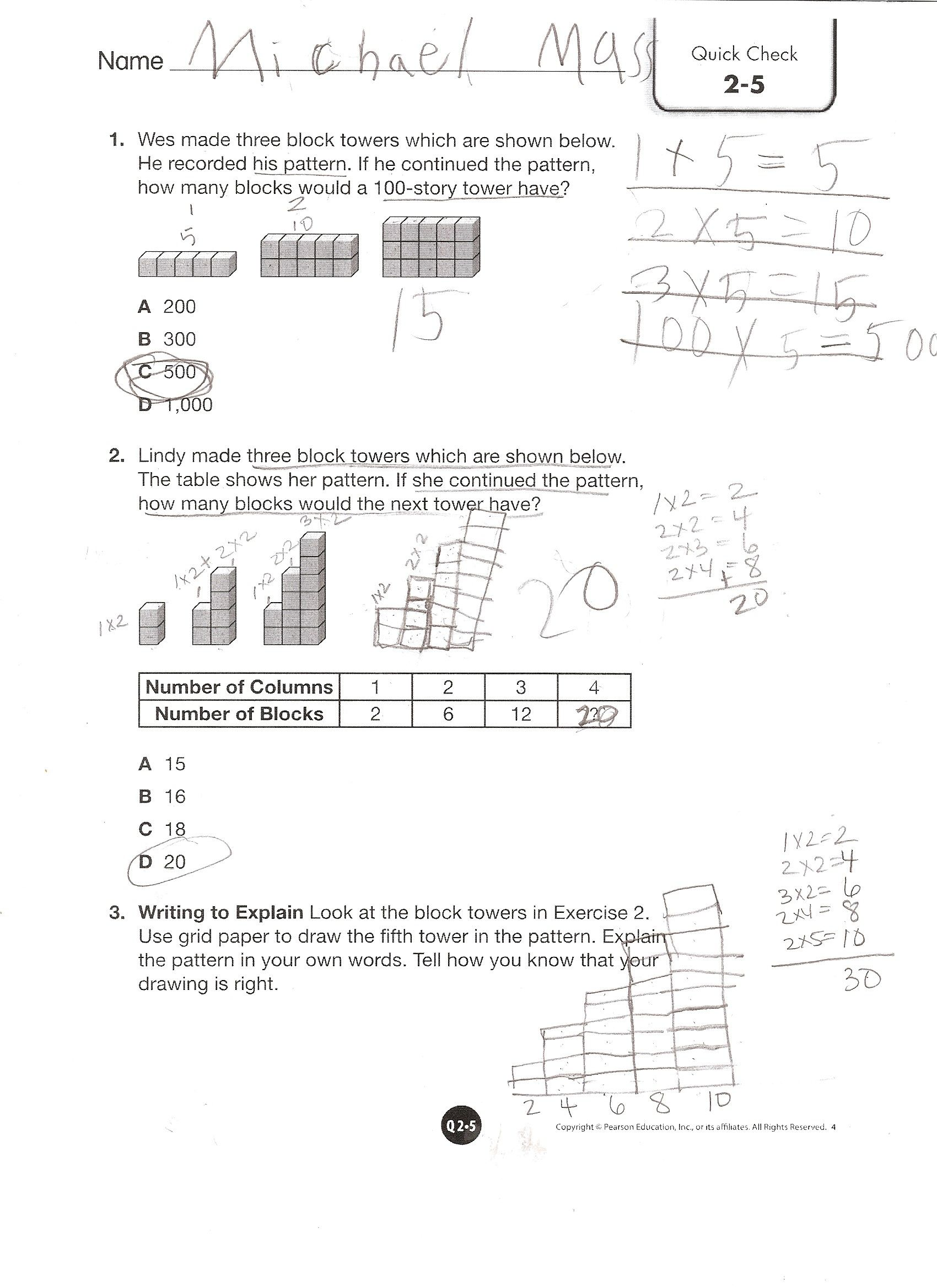 Envision Math Grade 4 Workbook Pdf