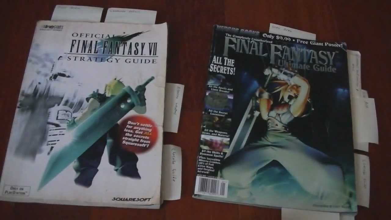 Final Fantasy 7 Walkthrough Pdf