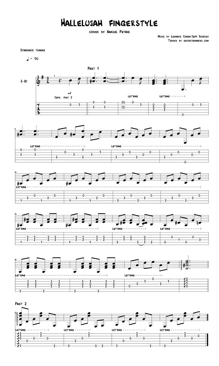 Fingerstyle Guitar Tabs Pdf Free Download