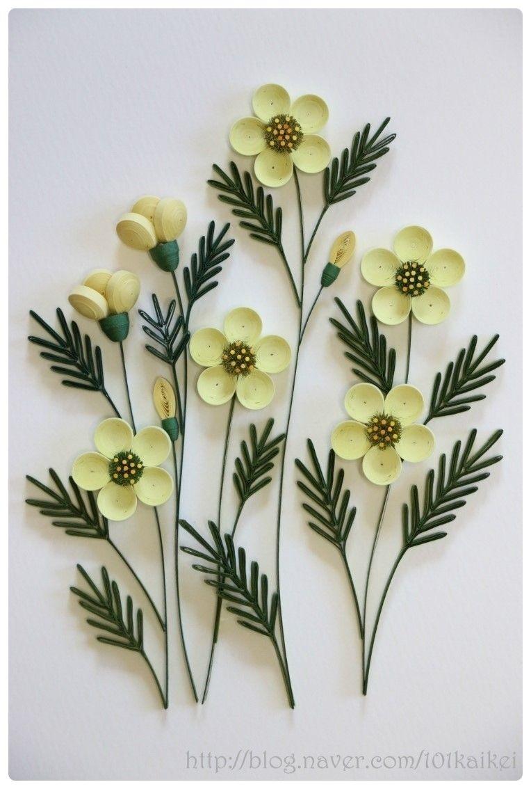 Papercraft Flower Paper Quilling Flower