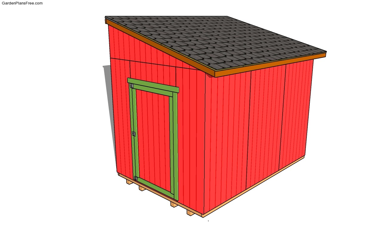 Free 8x8 Lean To Shed Plans Pdf