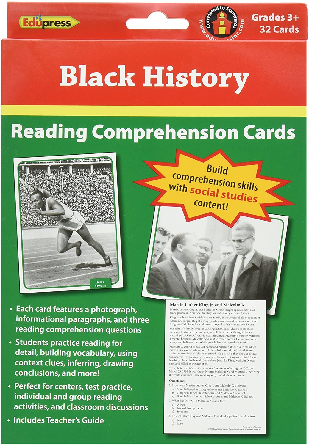 Free Black History Worksheets Pdf