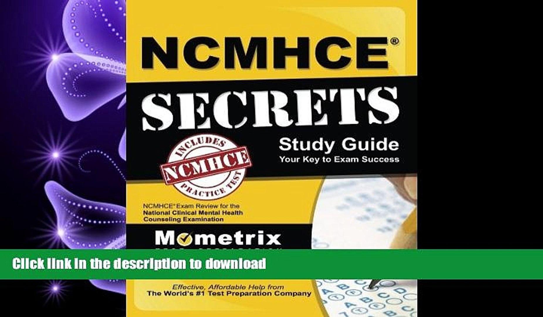 Free Ncmhce Study Guide Pdf