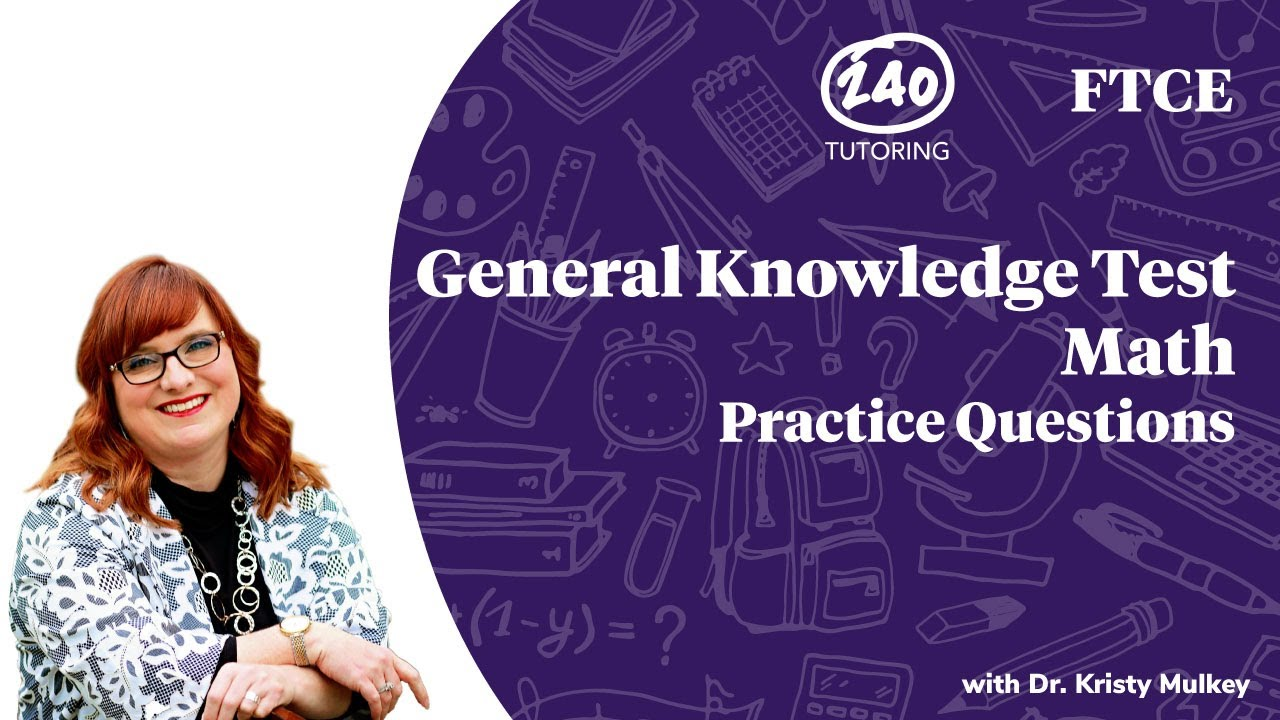 Ftce General Knowledge Practice Test Pdf 2020