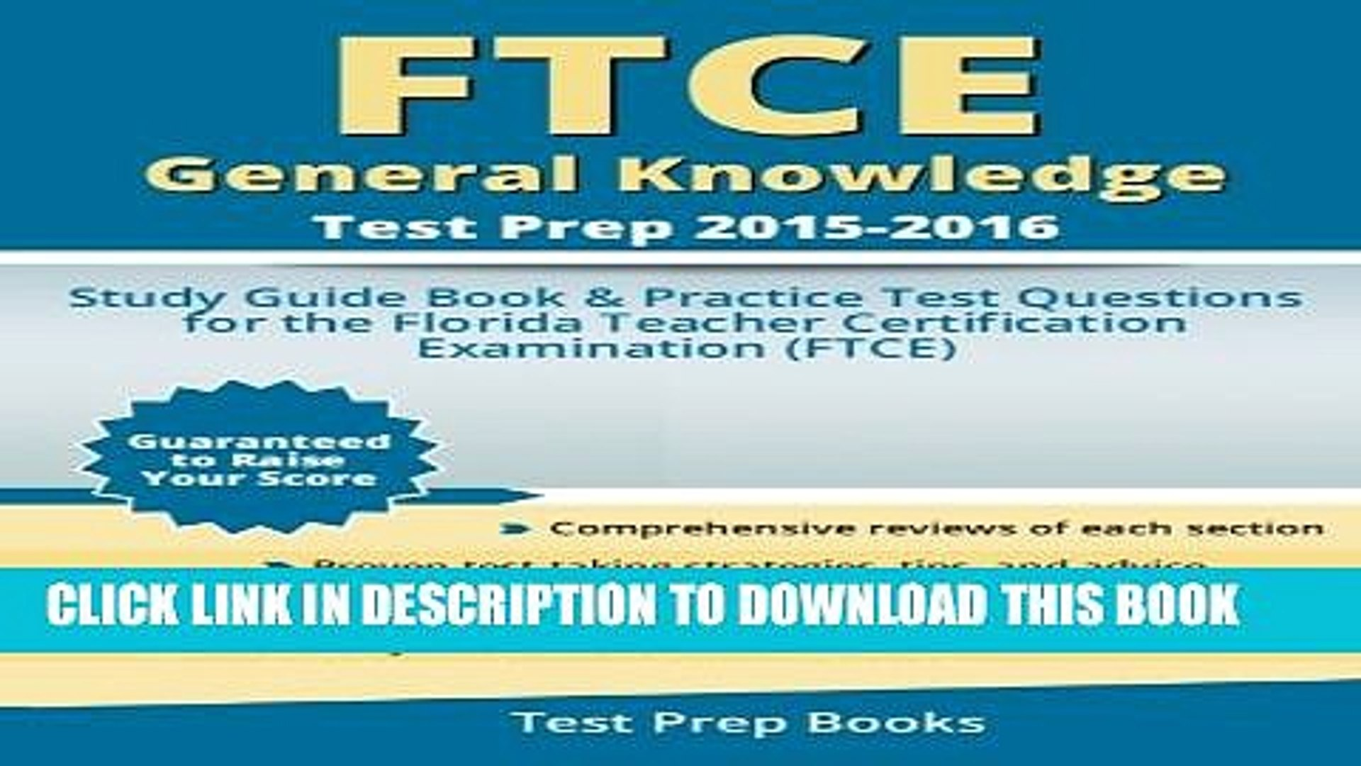 Ftce General Knowledge Practice Test Pdf