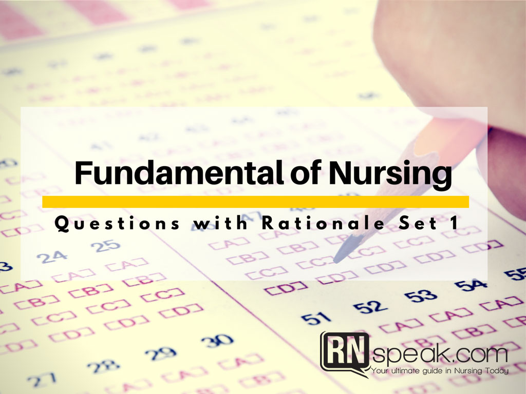 Fundamentals Of Nursing Test Questions Pdf