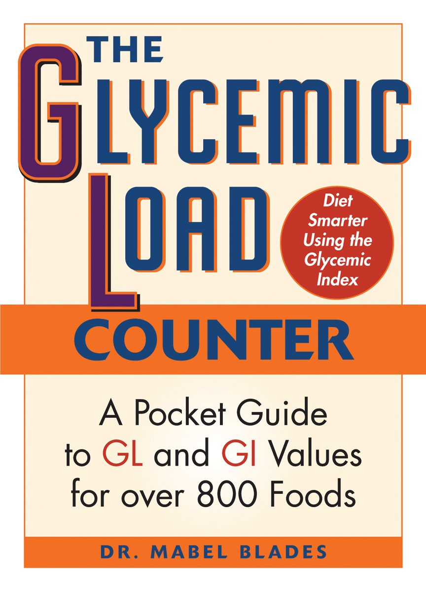 Glycemic Index And Glycemic Load Chart Pdf