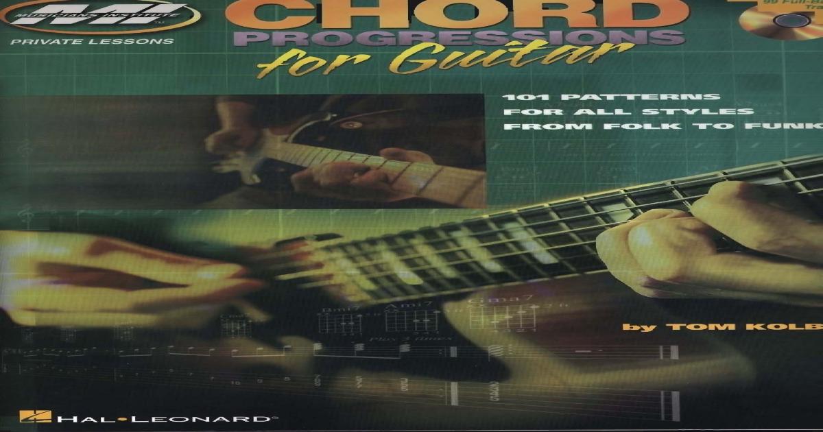 Guitar Chord Progressions Chart Pdf