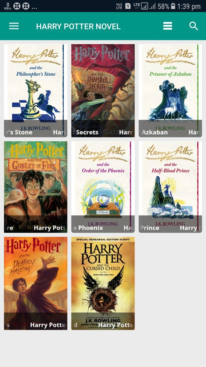 Harry Potter Books Pdf Free Download For Android