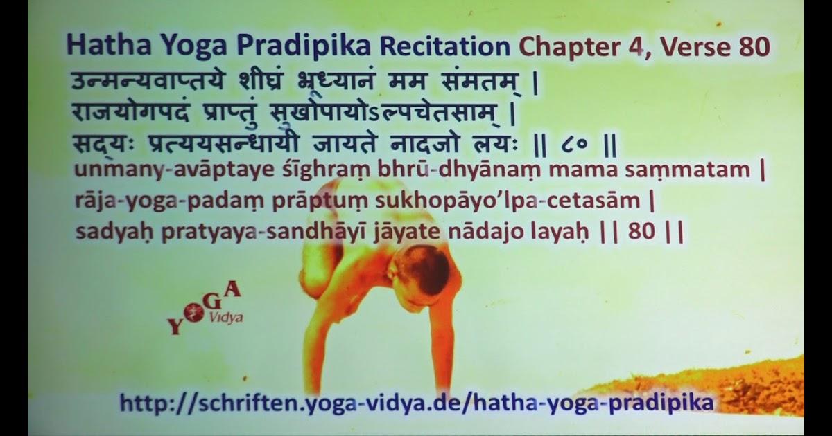 Hatha Yoga Pradipika Kannada Pdf