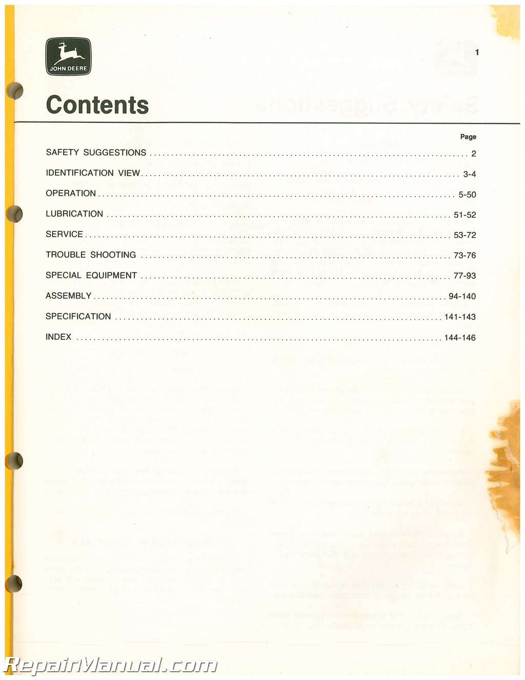 John Deere 7000 Planter Manual Pdf