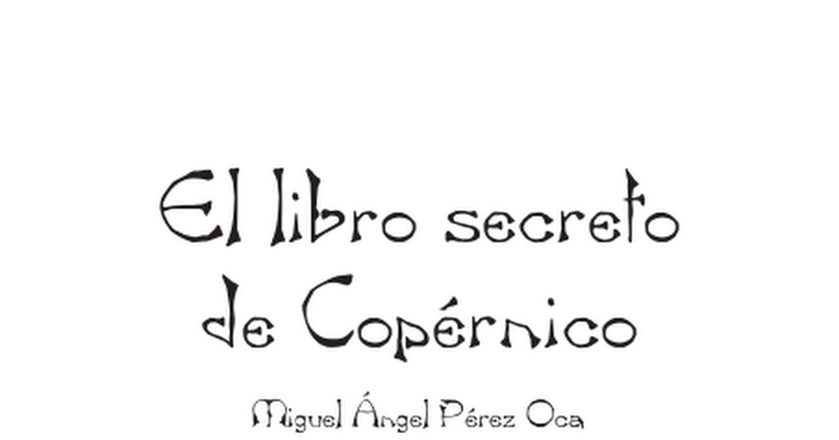 Libro El Secreto Pdf Google Drive