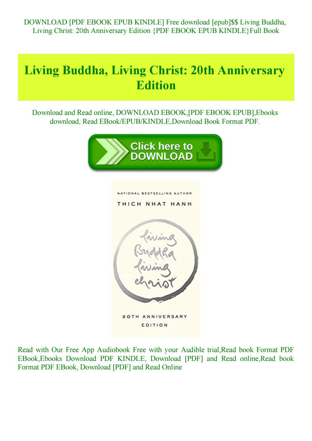 Living Buddha Living Christ Pdf