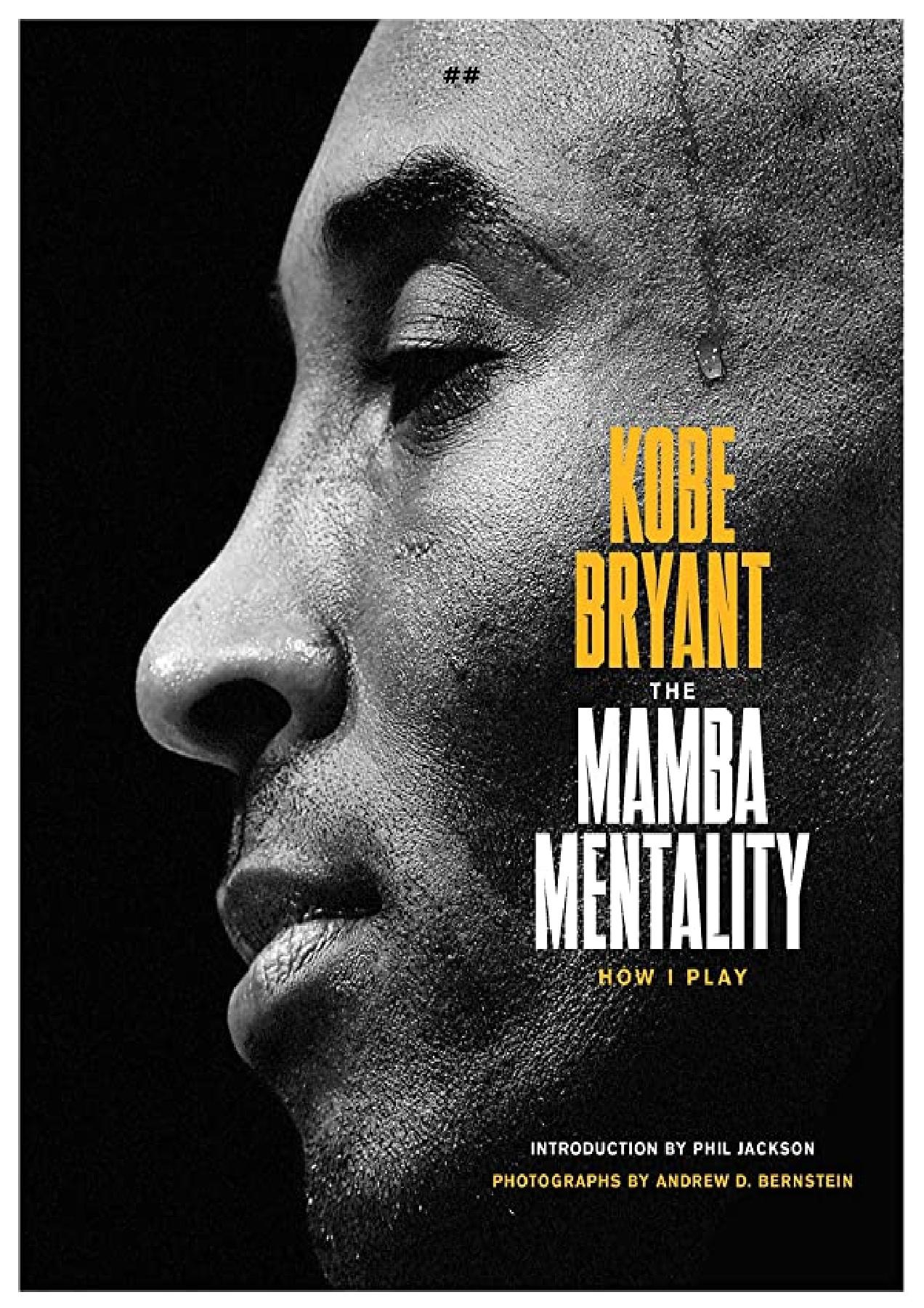 Mamba Mentality Book Pdf