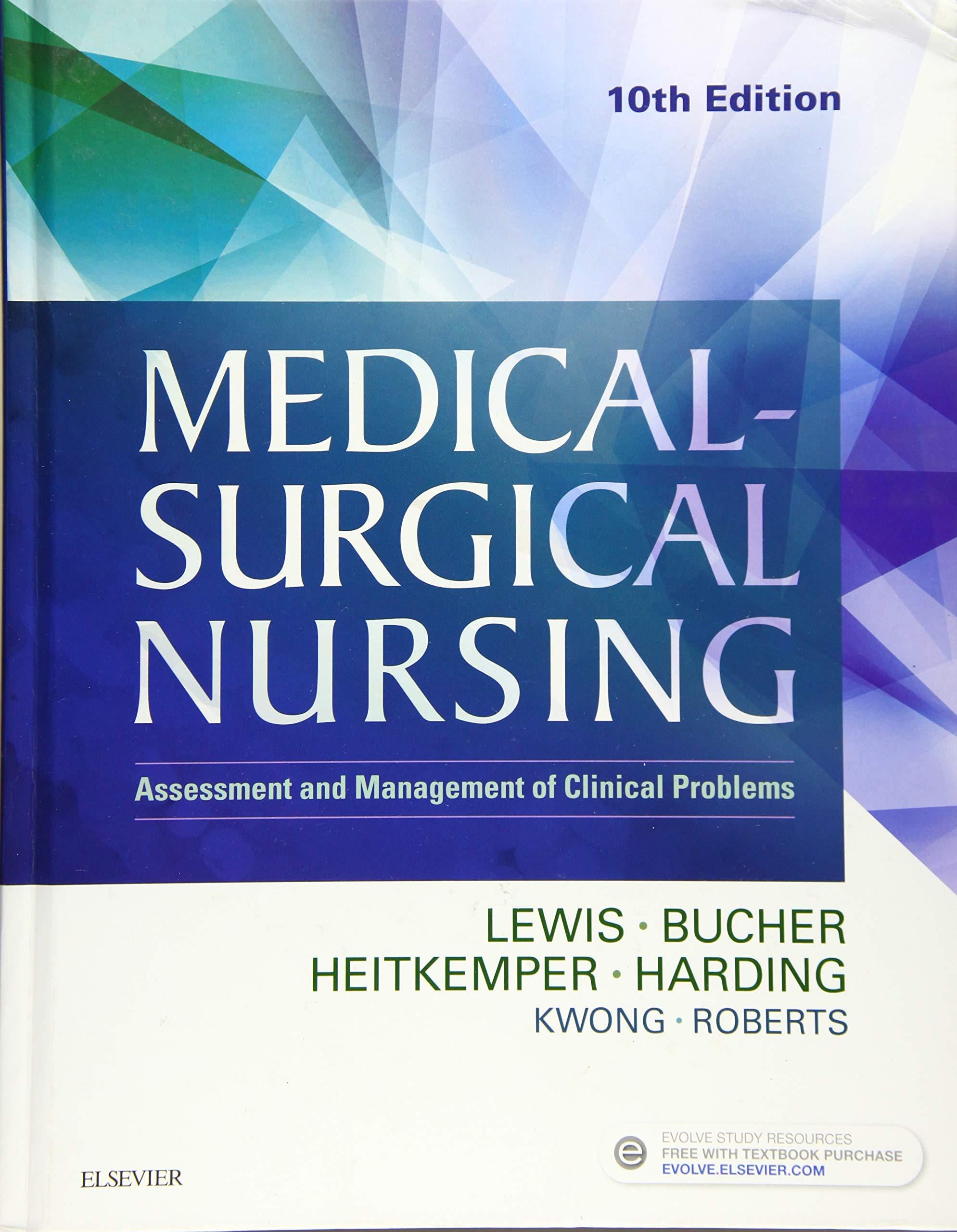 Medical Surgical Nursing Lewis 10th Edition Pdf Download Free