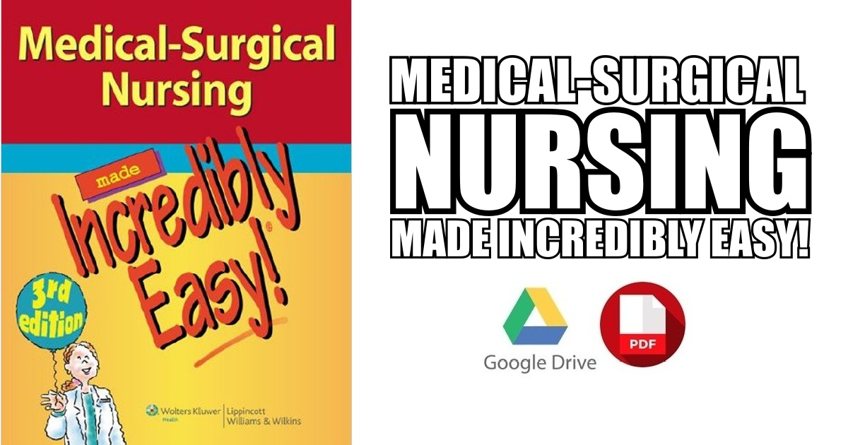 Medical Surgical Nursing Pdf