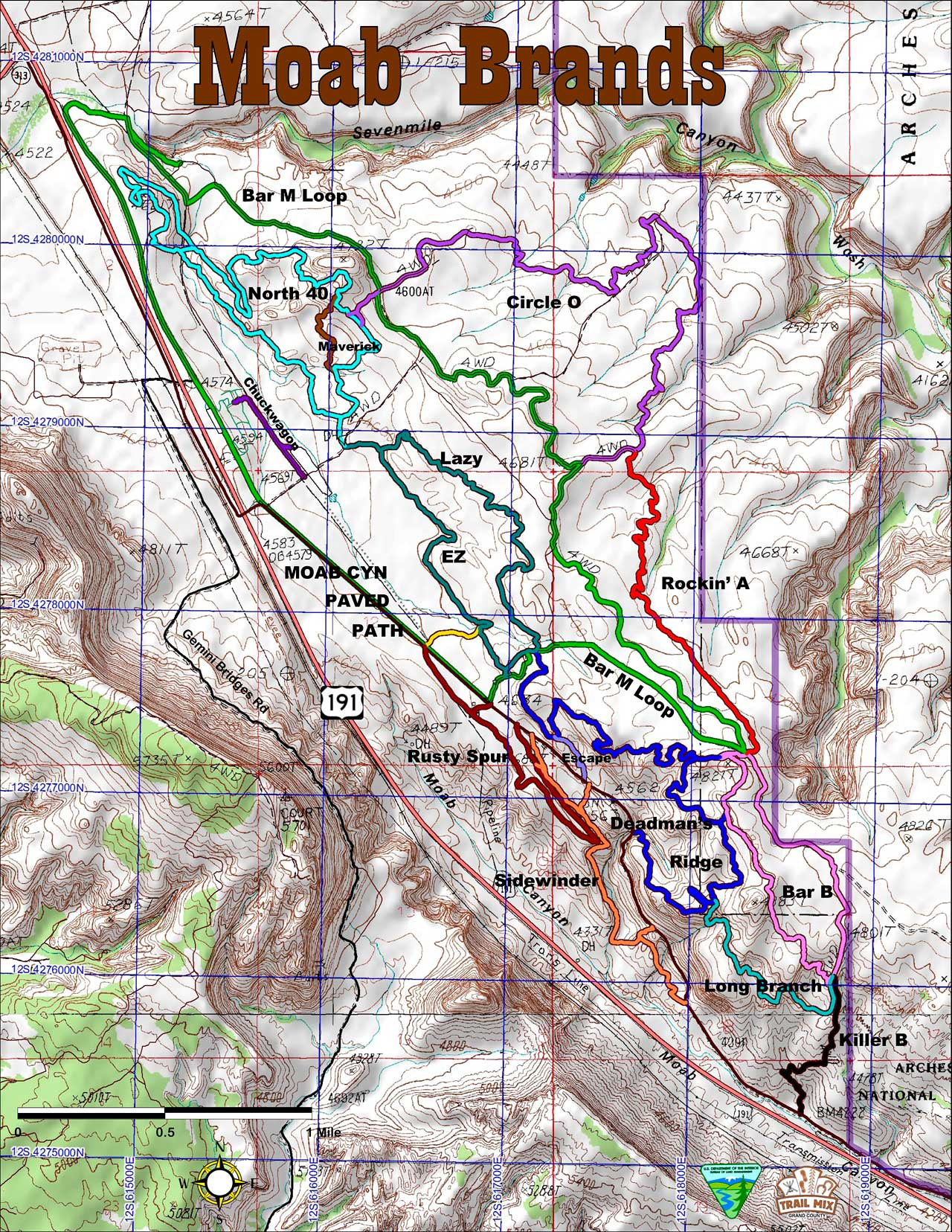 Moab Jeep Trail Map Pdf