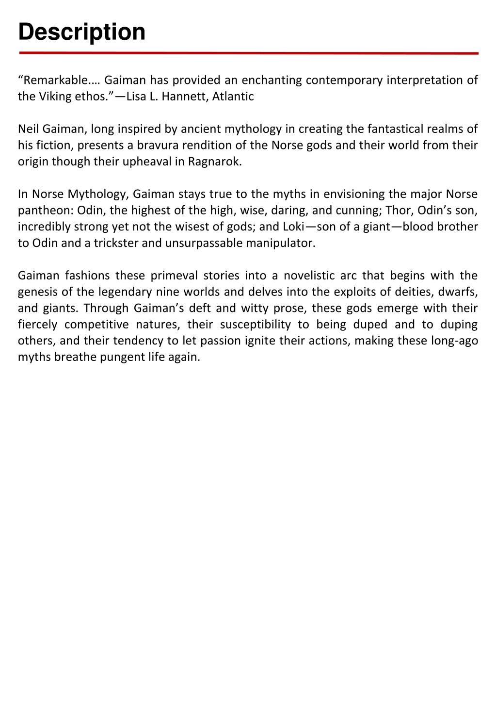 Norse Mythology Pdf Neil Gaiman