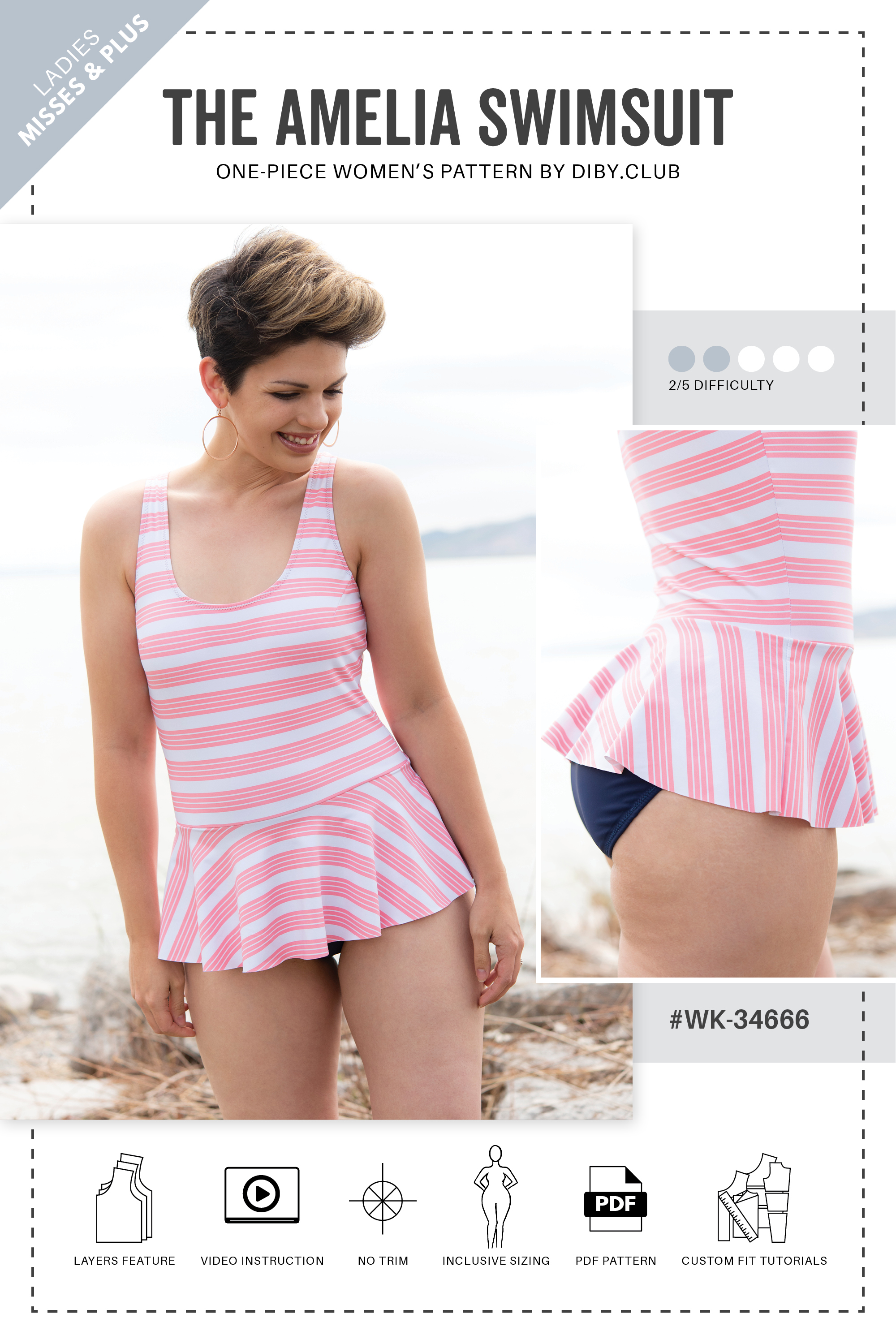 One Piece Swimsuit Pattern Pdf Free