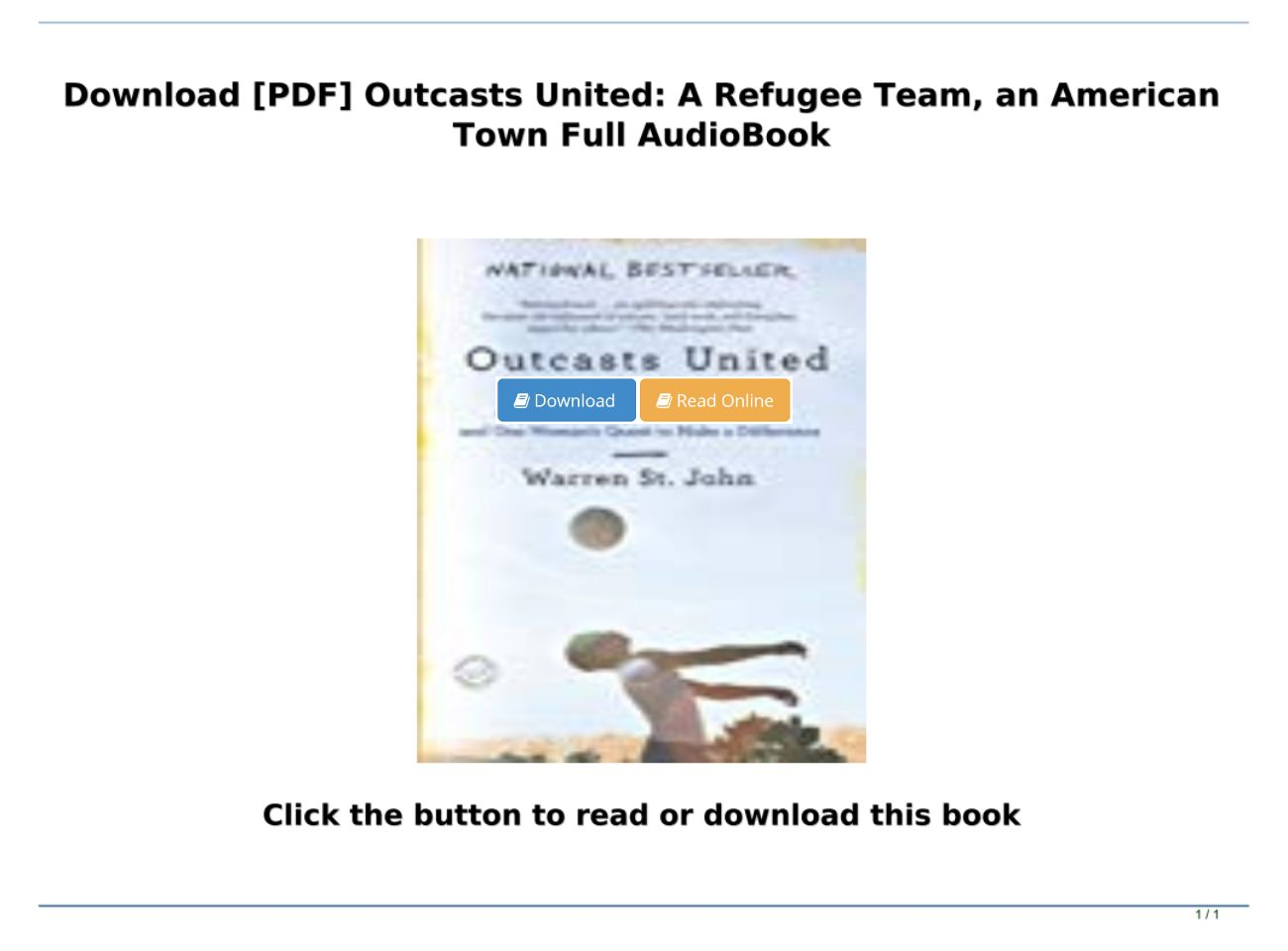 Outcasts United Pdf Online