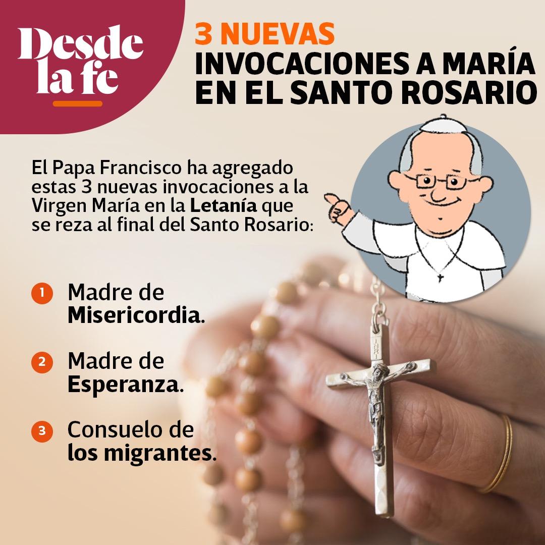 Pdf Letanias Del Santo Rosario