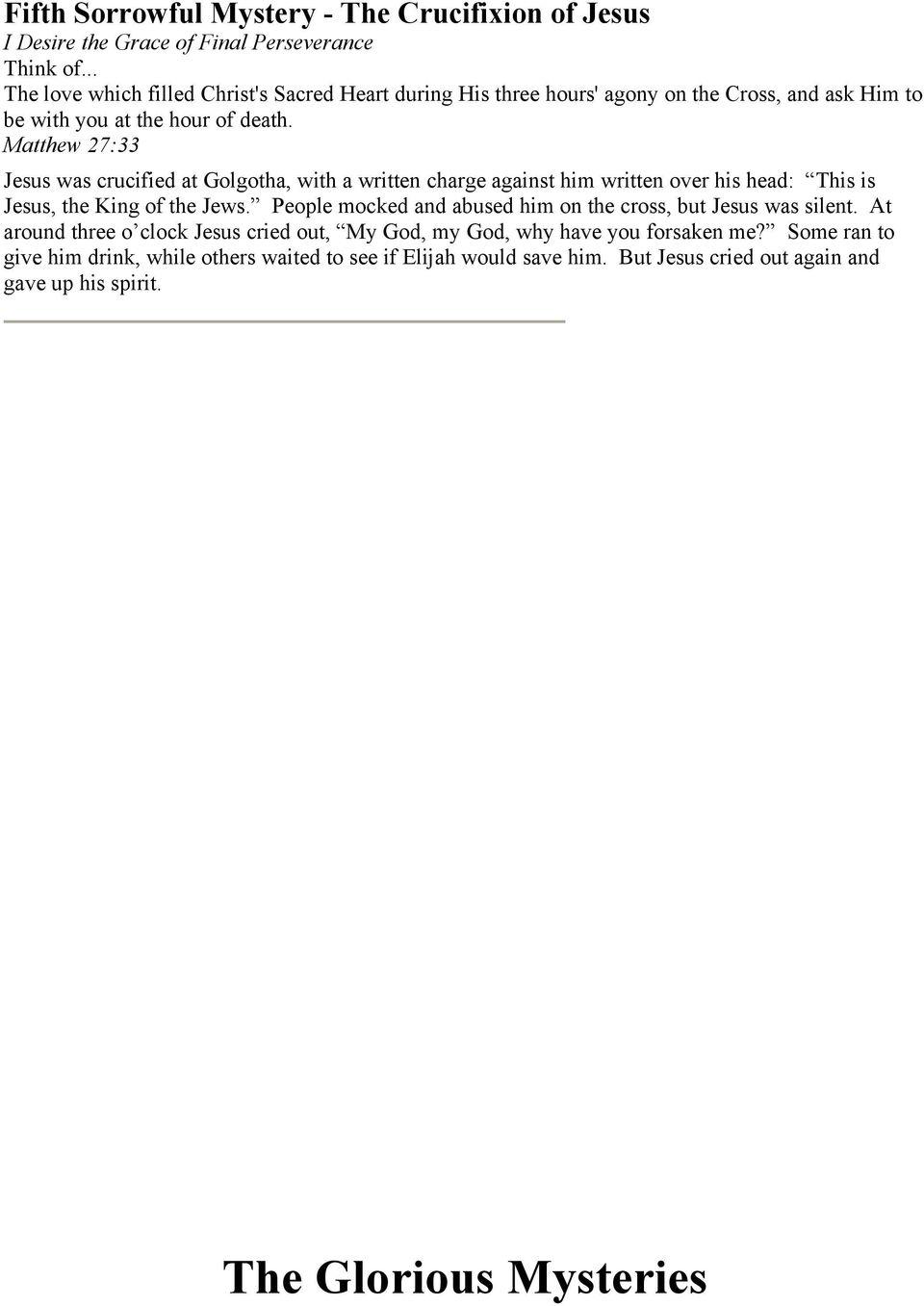 Pdf Scriptural Rosary