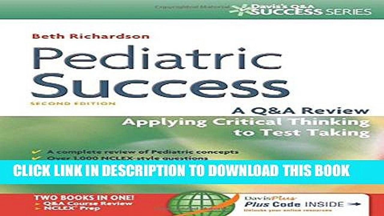 Pediatric Success Pdf