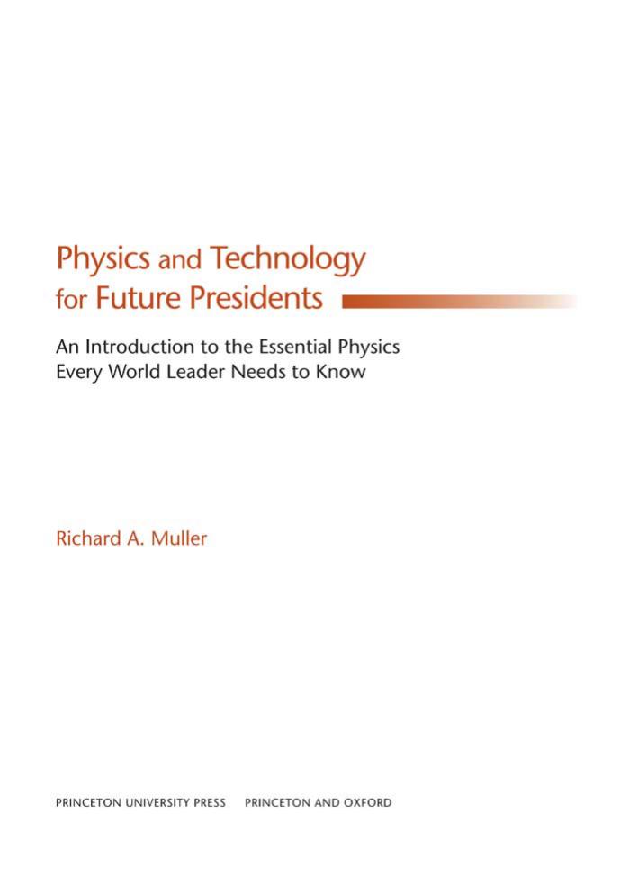 Physics For Future Presidents Pdf Free