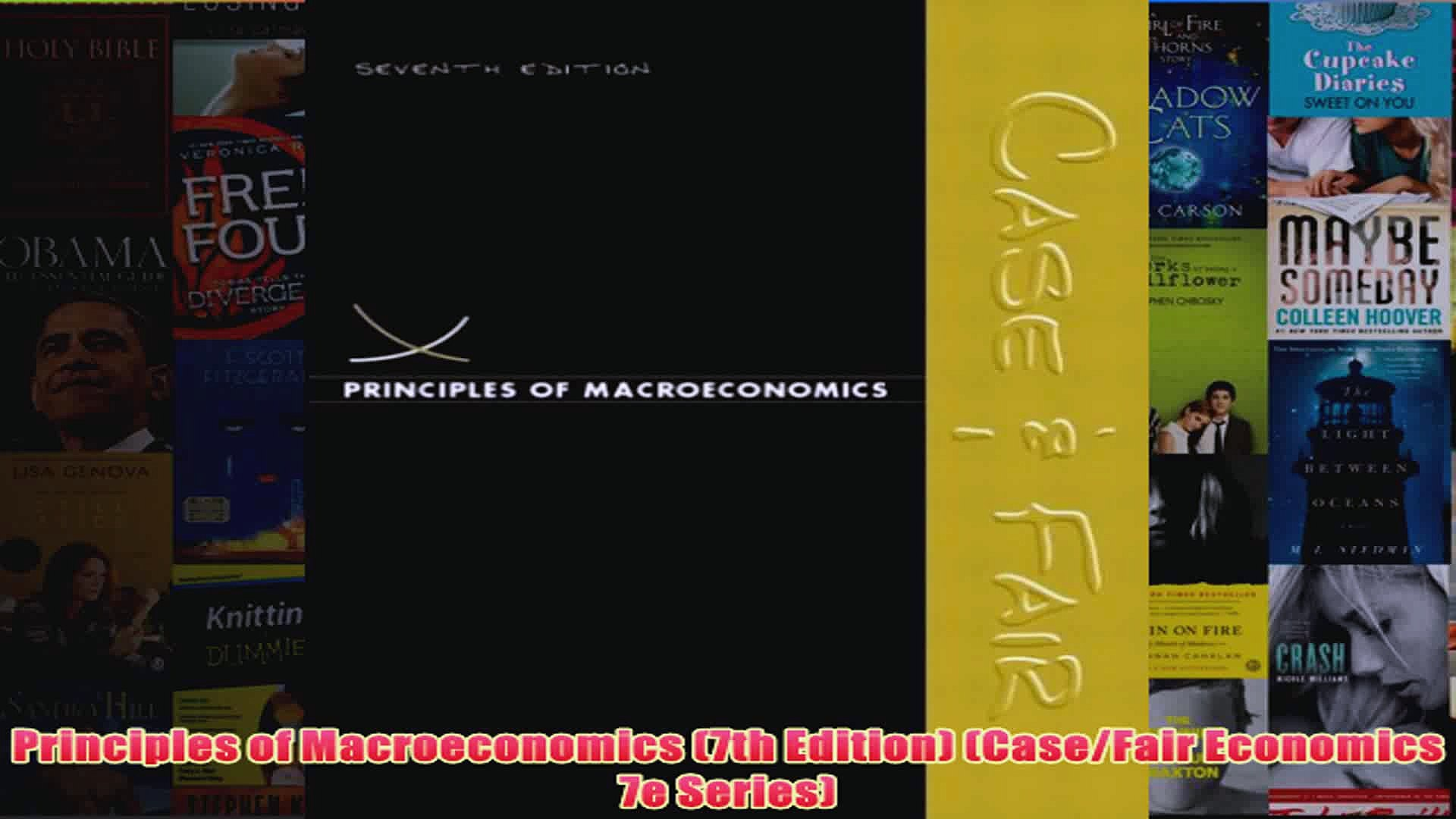 Principles Of Macroeconomics 7th Edition Pdf
