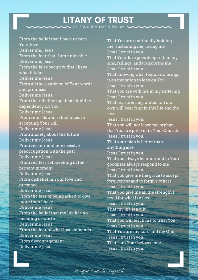 Printable Litany Of Humility Pdf