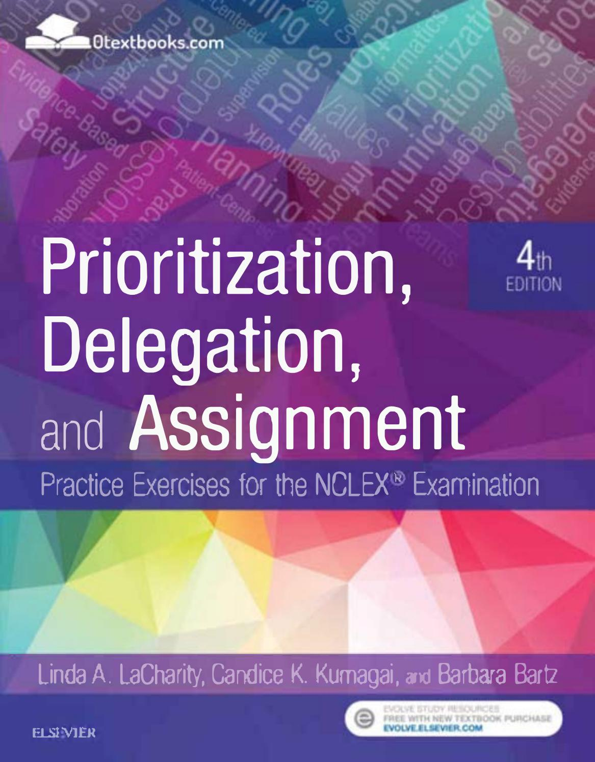 Prioritization Delegation And Assignment 4th Edition Pdf