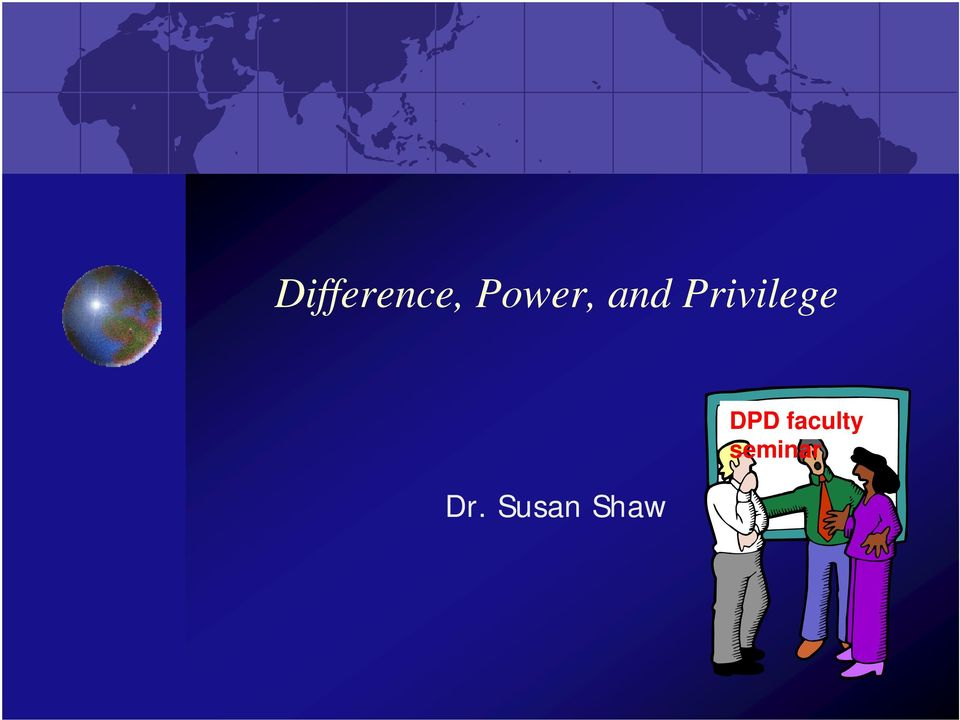 Privilege Power And Difference Pdf
