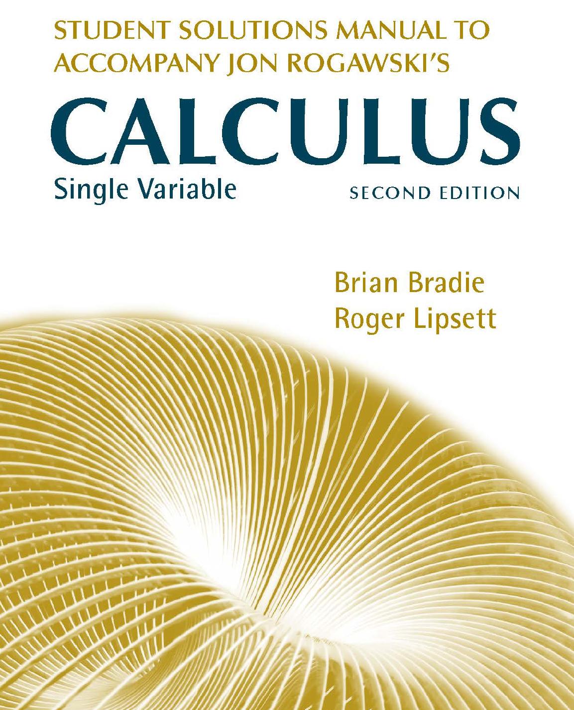 Rogawski Calculus 3rd Edition Pdf
