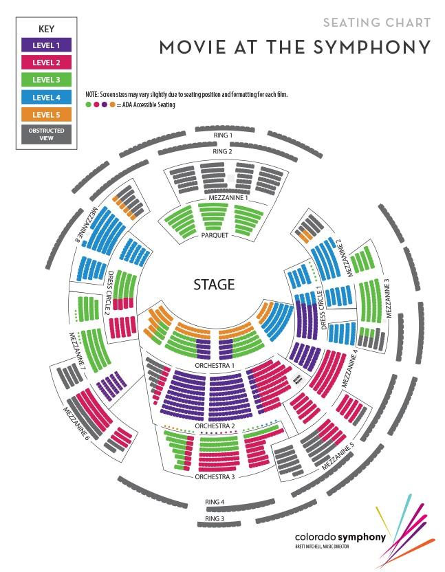 Segerstrom Seating Chart Pdf