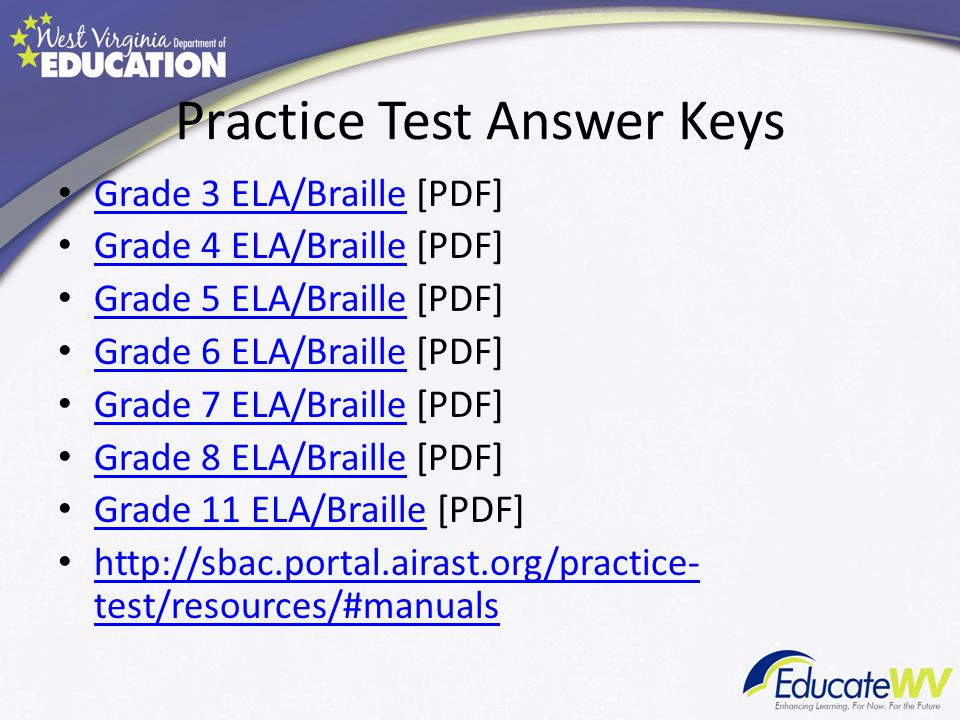 Smarter Balanced Practice Test Pdf 4th Grade