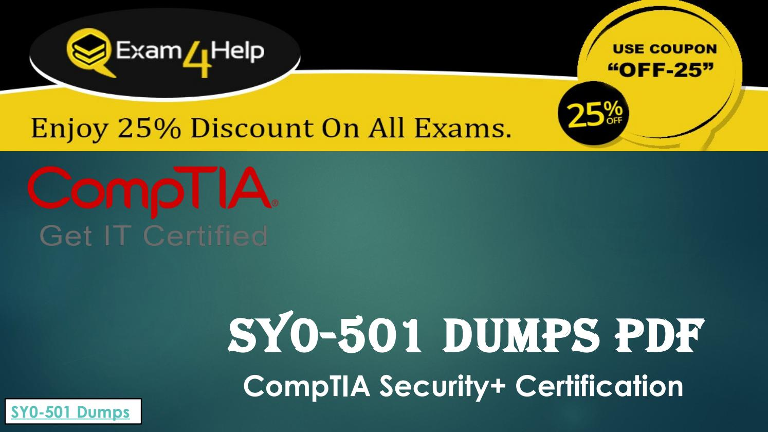 Sy0 501 Dumps Pdf