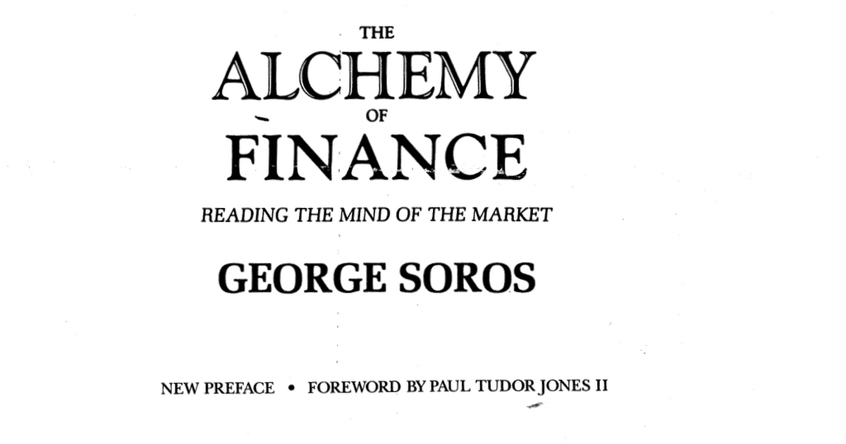 The Alchemy Of Finance Pdf Drive