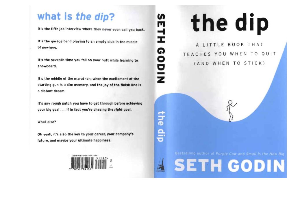 The Dip Seth Godin Pdf