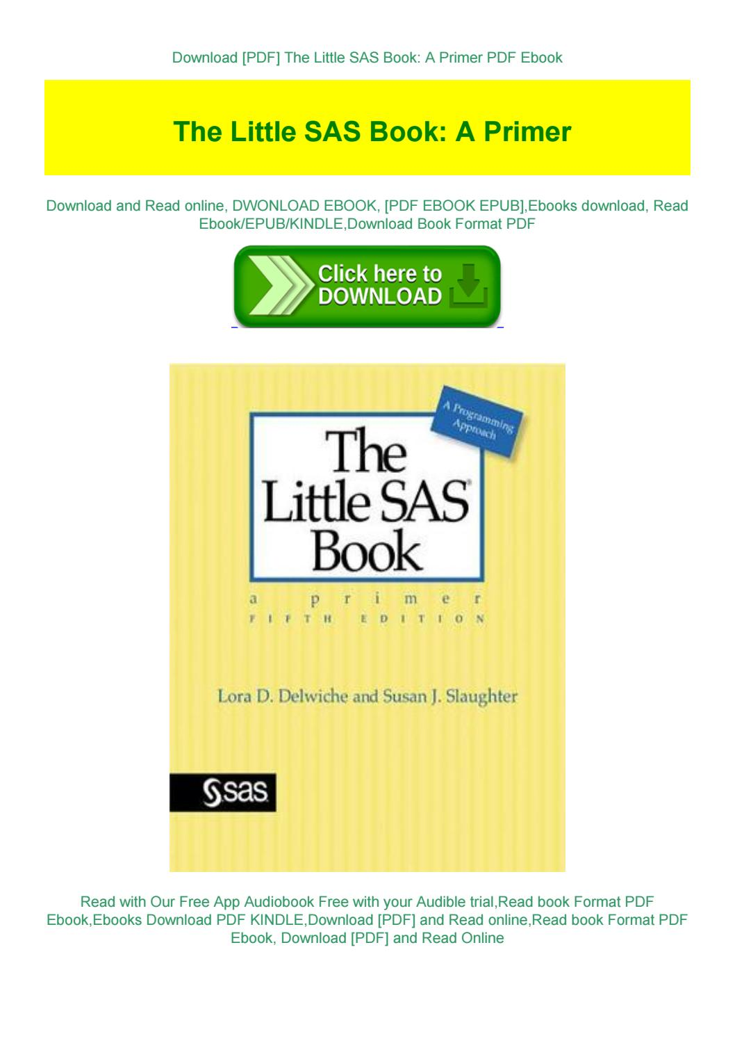 The Little Sas Book Pdf Free