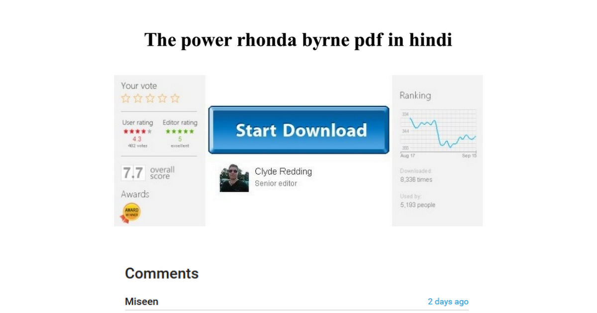 The Power Rhonda Byrne Pdf In Hindi
