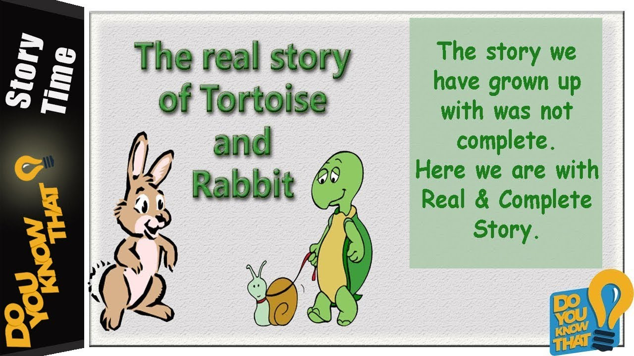 The Tortoise And The Hare Full Story Pdf