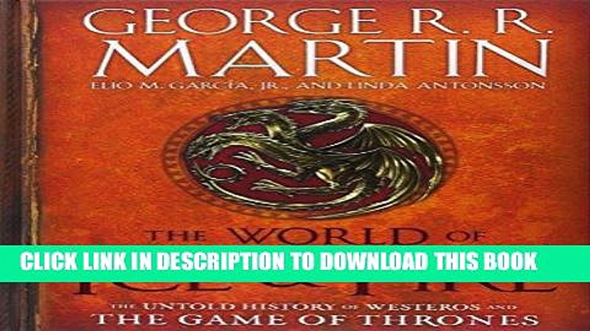 The World Of Ice And Fire Pdf