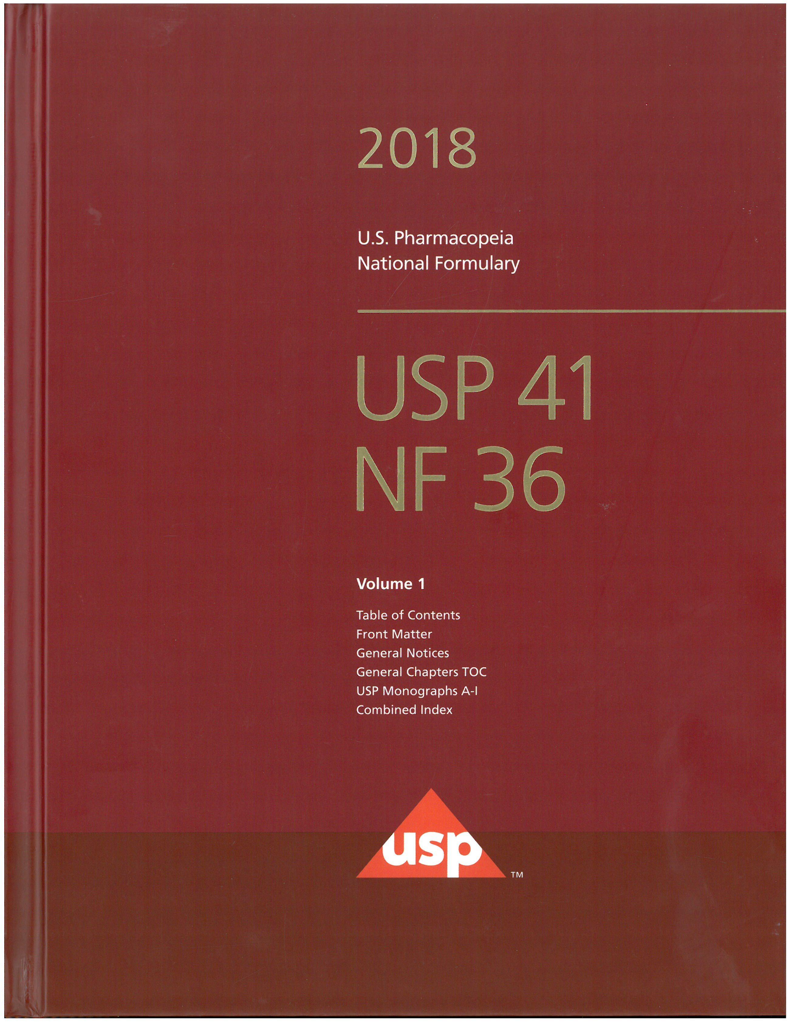Usp Pharmacopoeia Pdf